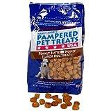 Pampered Pet Treats Peanut Butter & Honey Dog Cookies 2 Resealable Bags (5 lbs. each)