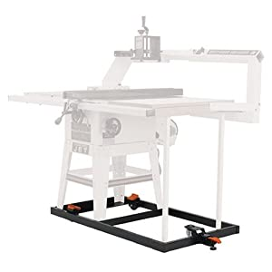 Htc Hrs 10 X Mobile Base For Delta 30 Inch Unisaw Table Saw And Jet Jtas10 Table Saw