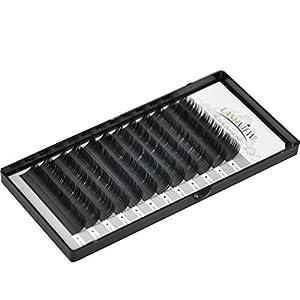 LASHVIEW Premium D Curl 0 15 Thickness Mixed Tray Eyelash Extensions