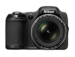 Nikon COOLPIX L820 16 MP Digital Camera with 30x Zoom (Black)