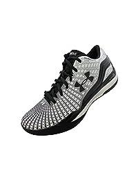 Under Armour Mens UA TB Clutchfit Drive Low Basetball Shoe, White/Black/Black