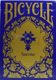 Bicycle Surena Gold Trim Playing Cards