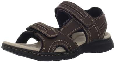 Dockers Men's Latimer Sandal,Dark Brown,8 M US