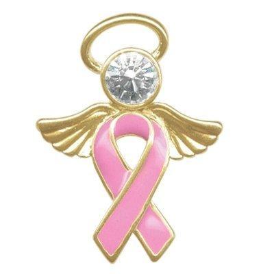 Breast Cancer Awareness Angel Tac Pin