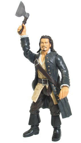Pirates of the Caribbean Hatchet Hurling Will Turner - 1