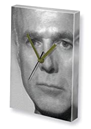 MICHAEL HOGAN - Canvas Clock (LARGE A3 - Signed by the Artist) #js001