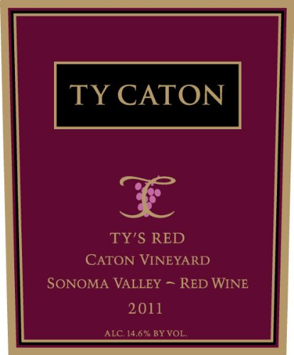 2011 Ty Caton Ty'S Red 750 Ml