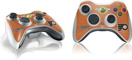 NHL - Philadelphia Flyers - Philadelphia Flyers Distressed - Microsoft Xbox 360 Wireless Controller - Skinit Skin