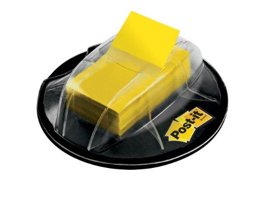 post-it-flags-yellow-1-inch-wide-200-desk-grip-dispenser-680-hvyw