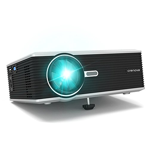 Crenova xpe470 mini led video projector office projector for Mini outdoor projector