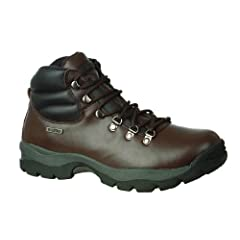 Buy Male - Hi-Tec Eurotrek WP Mens Dark Brown UK7 EU40.5 US7.5 by Hi-Tec