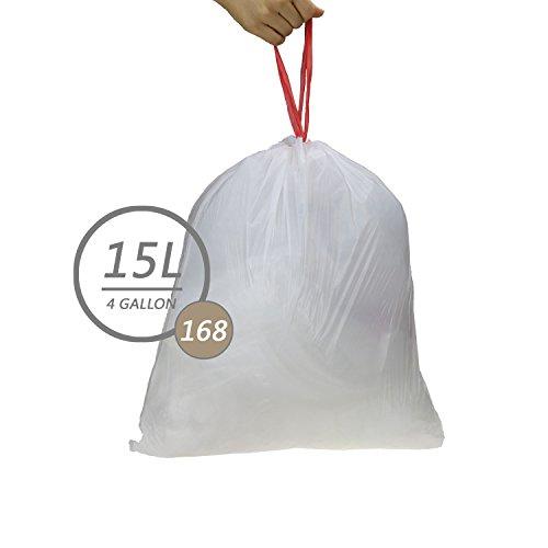Trash Bag Sizes with Small 4 Gallon Trash Bags also Small Trash Bag ...