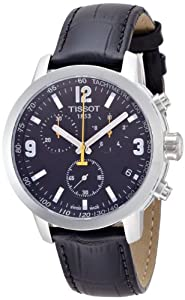 Tissot Mens Quartz Leather watch #T0554171605700