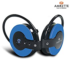 Amkette Trubeats Igo Bluetooth Headphones (Blue)