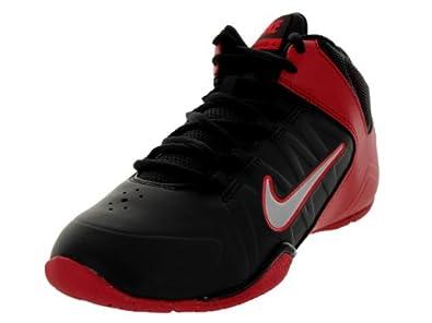 Nike Kids AV Pro 4 (GS/PS) Black/Mtllc Slvr/Gym Rd/Unvrsty Basketball Shoe 1.5 Kids US