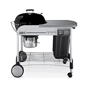 Weber 1481001 Performer Platinum Charcoal Grill, Black (Older Model)