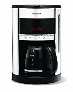 Morphy Richards Accents 47088 Digital Filter Coffee Maker - Stainless Steel
