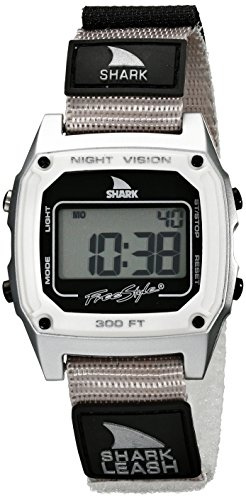 Freestyle Unisex 102241 Shark Fast Strap Retro 80's Digital Grey Watch (Womens Shark Clip Watch compare prices)