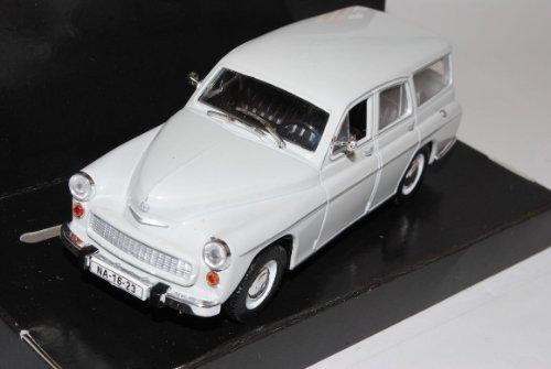 WaRSzawa 203 Kombi Weiss 1/43 Nash Avtoprom Modell Auto