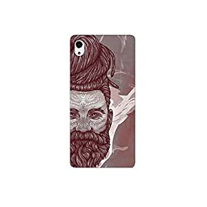 Design for Sony Xperia M4 nkt05 (70) Case by Mott2 -Long Beard and Hair - Sadhu (Limited Time Offers,Please Check the Details Below)