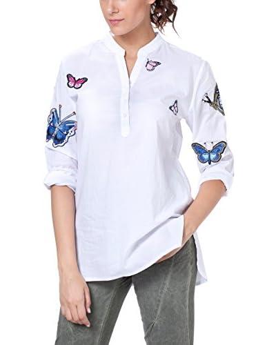 TANTRA Camisa Mujer Blanco