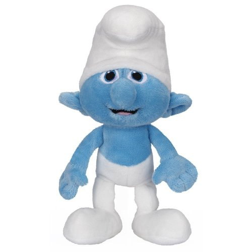 Smurfs Clumsy Basic Plush Toy - 1