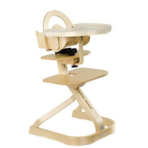 Svan Signet Complete High Chair - Natural Finish (for 6 months to adult)