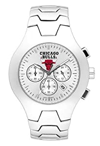 Chicago Bulls Hall Of Fame Sterling Silver Watch by Logo Art