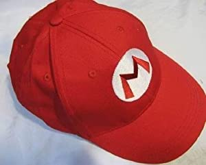 Mario Bro: Red Baseball Cap Mario Hat
