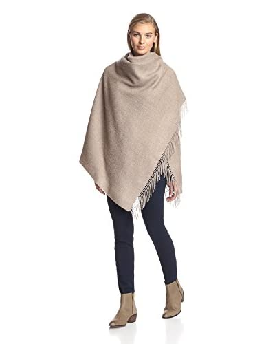 Alicia Adams Alpaca Women's Wool Wrap, Sand