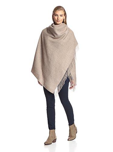 Alicia Adams Alpaca Women's Wool Wrap, Sand