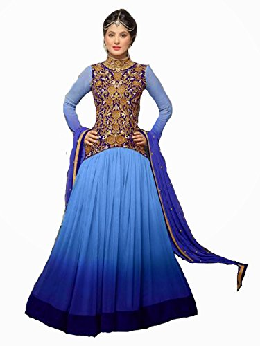 Shreeji Fashion Exclusive Designer Sky Anarkali Suits