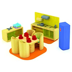 Hape Bamboo Collection Cosy Kitchen Set