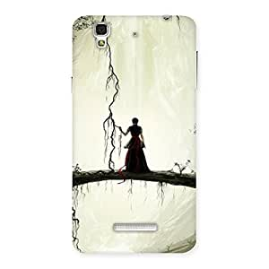 Forest Warrior Back Case Cover for YU Yureka Plus
