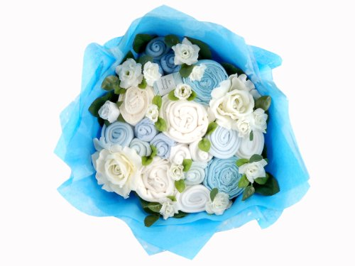 Twins Bouquet - Blue