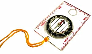 Ultimate Survival Technologies Waypoint Camping Compass, Clear from Ultimate Survival Technologies