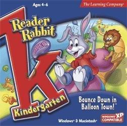 Reader Rabbit Kindergarten - Bounce Down In Balloon Town! front-714445