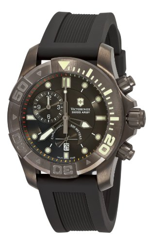 Victorinox Swiss Army Men&#8217;s 241421 Dive Master Black Dial Watch