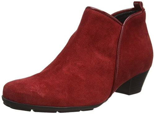 Gabor Shoes Basic, Stivaletti Donna, Rosso (Opera/Cherry 35), 40 EU