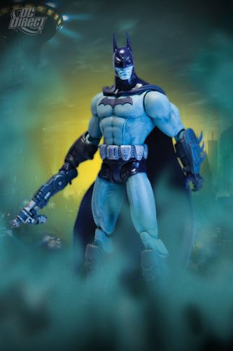 DC Direct Batman: Arkham City Series 2: Batman (Detective Mode Variant) Action Figure - 1