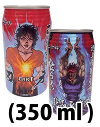刃牙エナジー飲料 350ml アルプロン×刃牙のコラボサプリ