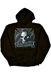 Mens Hooded Sweatshirt : BAD ASS