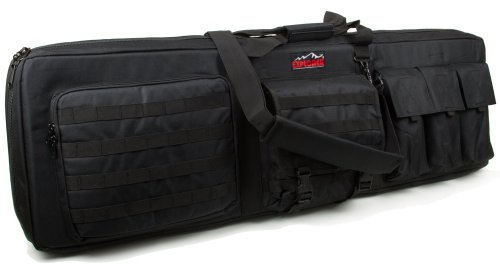 Large 3 Gun Soft Carry Case with Shooting Mat - Holds up to