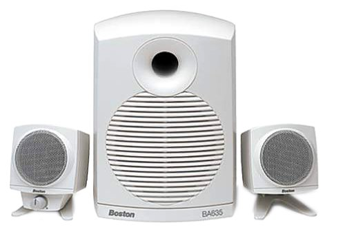 Boston Acoustics Ba635 3-Piece Multimedia Computer Speakers