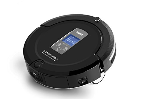 Robot Vacuum Cleaner Loomin A325 Auto Slim Anti Fall Floor Robotic Cleaner (A325-Black) (Auto Home Vacuum compare prices)