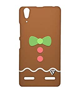 Vogueshell Cartoon Bow Printed Symmetry PRO Series Hard Back Case for Lenovo A6000