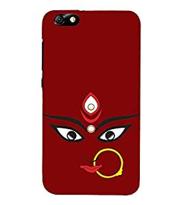 Maa Kali 3D Hard Polycarbonate Designer Back Case Cover for Huawei Honor 4X :: Huawei Glory Play 4X