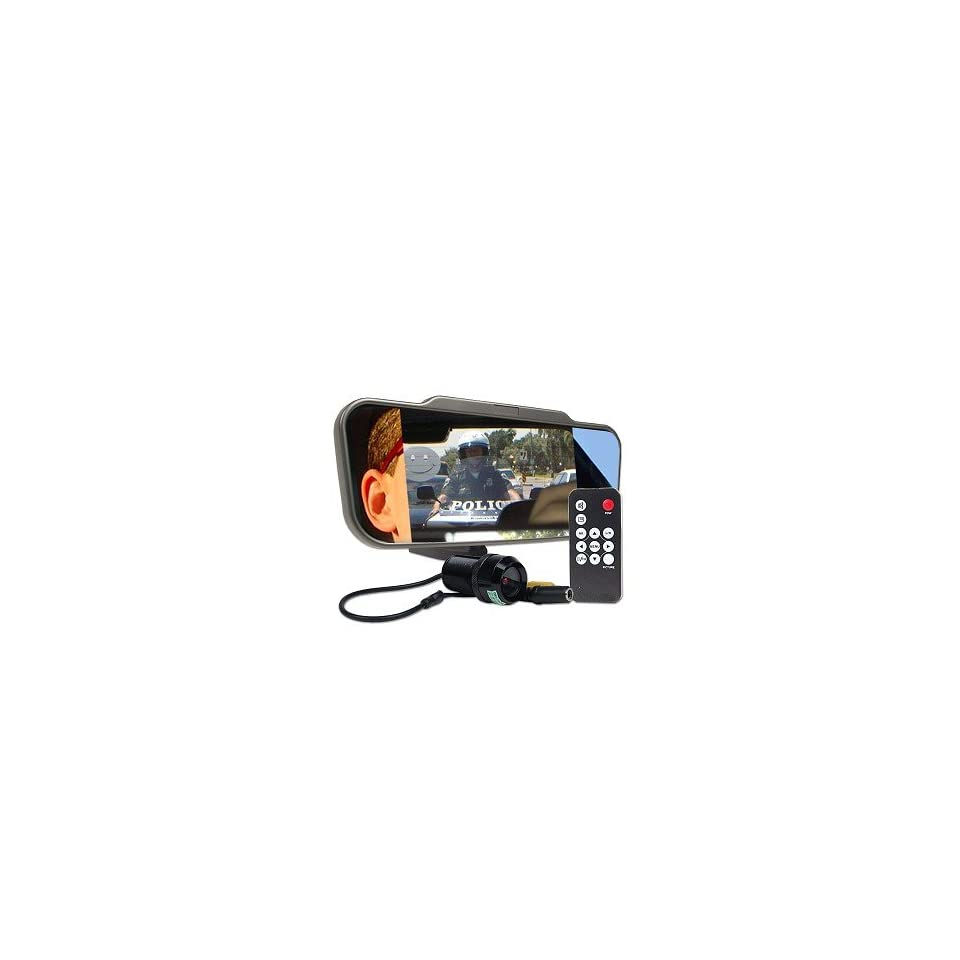 6.5 Inch LCD Car RearView Mirror Monitor Kit w/ Camera