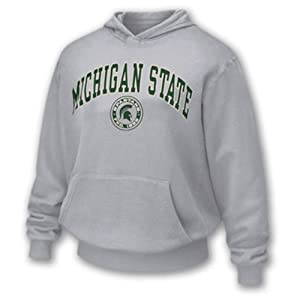 Michigan State Spartans Adult Arch and Ring Hoody Sport by Unknown