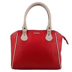 Beau Design Women's Handbag (Red,Bdhb025-04)